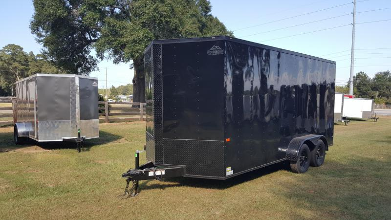 2020 Rock Solid Cargo 7x16x7 Enclosed Cargo Trailer