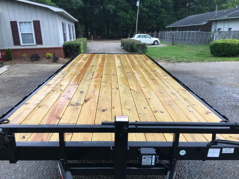 2020 Load Trail DK07 - Pintle Hook Deck Over 102 x 24 Equipment Trailer