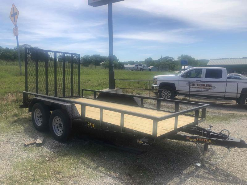 2020 Doolittle Trailers 77x14 Tandem Axle Utility