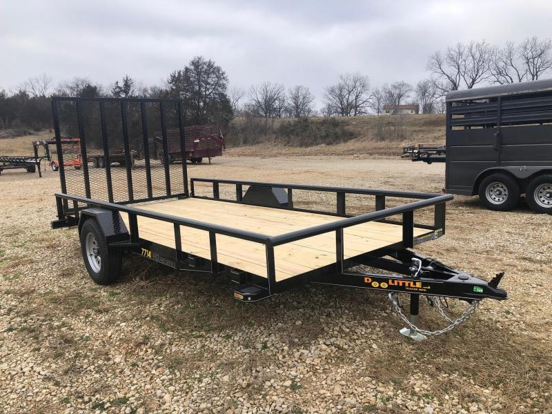 2020 Doolittle Trailers 77x14 Single Axle Utility Trailer