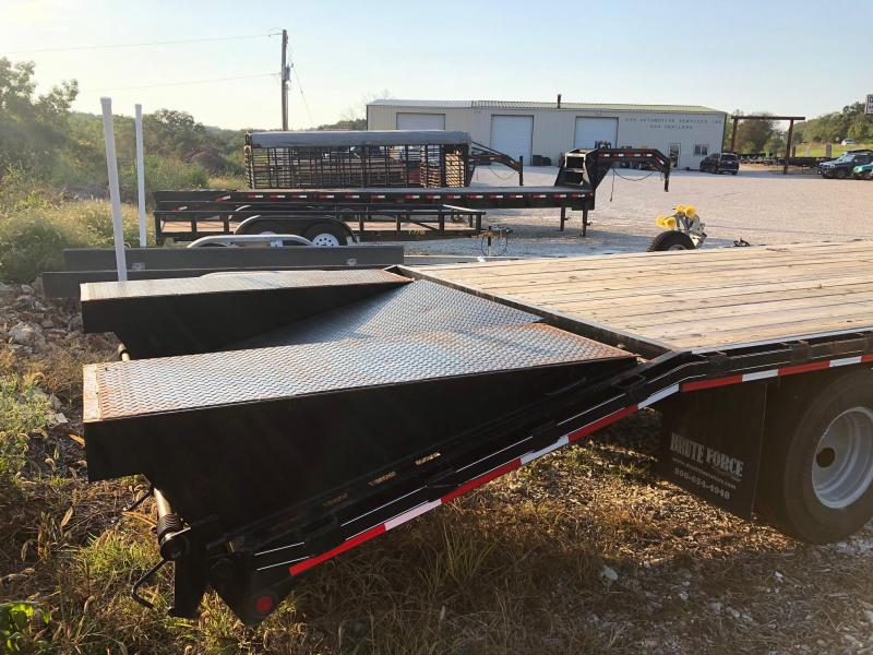 2014 Doollittle 8.5x30 Brute Force Deckover Trailer