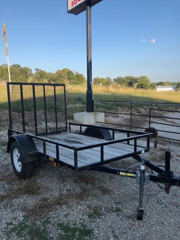 2011 Doollittle 60x8 Rally Sport Utility Trailer
