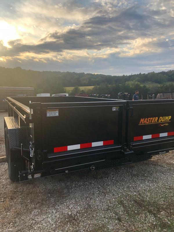 2020 Doolittle Trailers 82x14 Masterdump