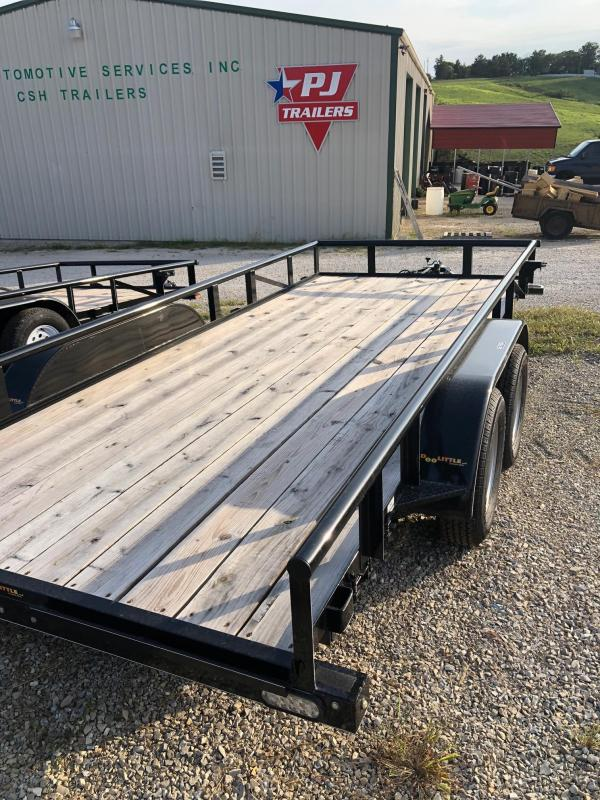 2020 Doolittle Trailers 77x16 Tandem Axle Utility