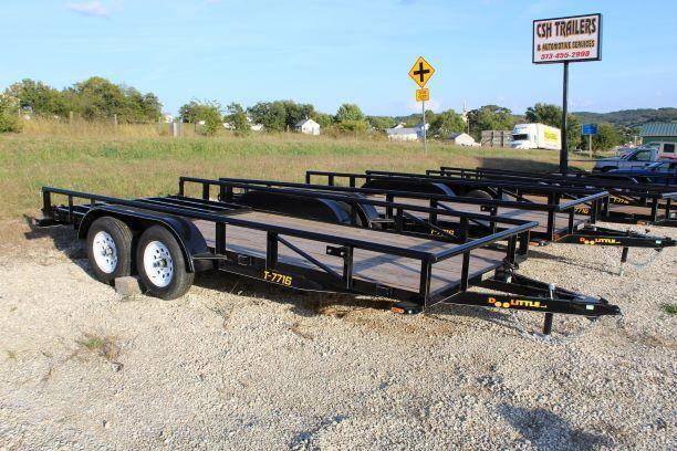 2018 Doolittle Trailers 77x16 Tandem Axle Utility