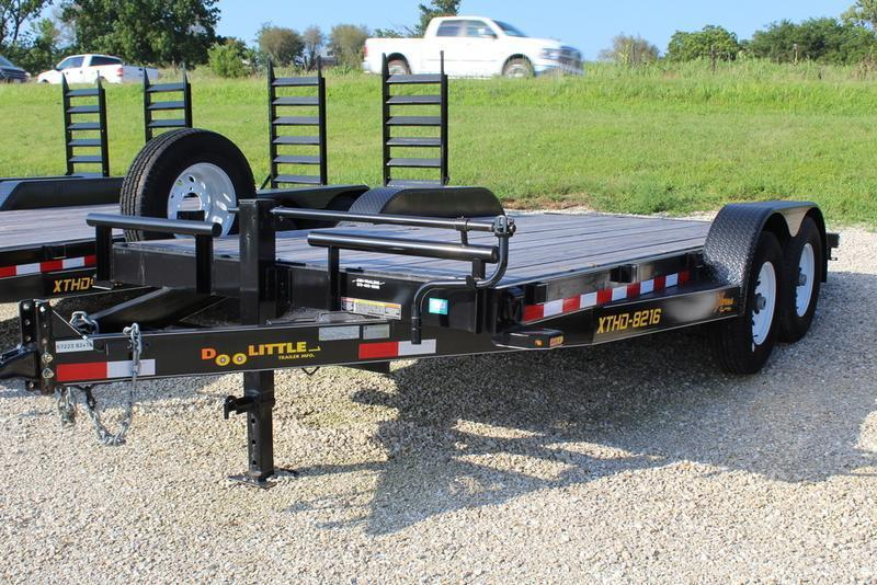 2016 Doolittle Trailers 82x16 Xtreme Equipment Trailer