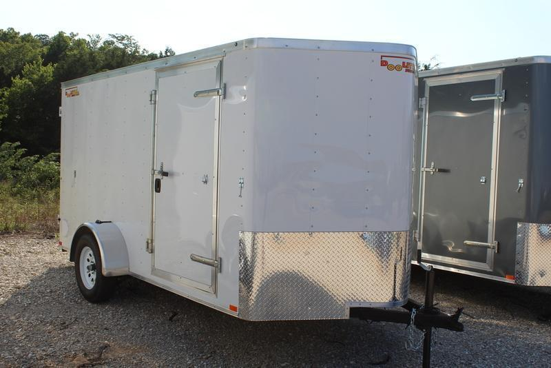 2019 Play-Mor Trailers 8x12 Cargo Trailer | CSH Trailers and