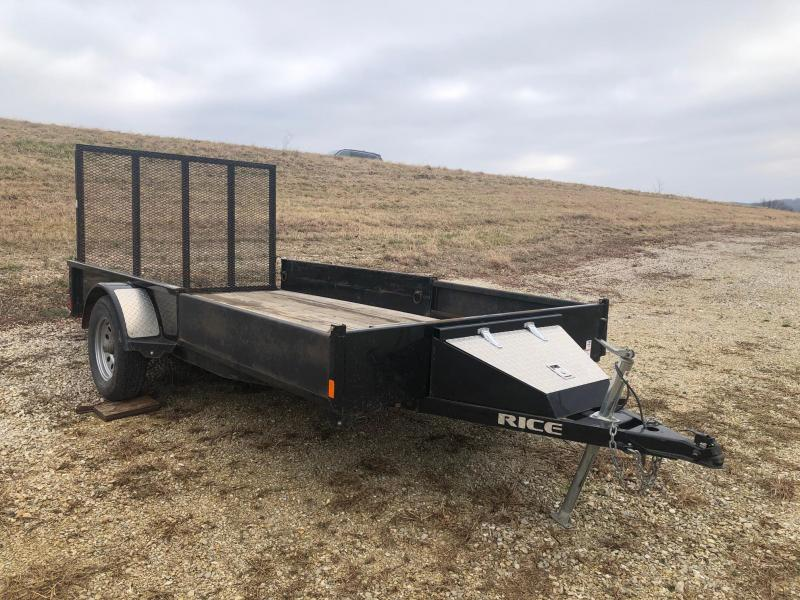 2016 Rice 77x12 Single Axle Utility