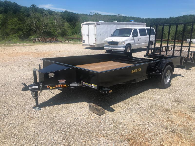 2020 Doolittle Trailers 83x14 Single Axle Utility Trailer