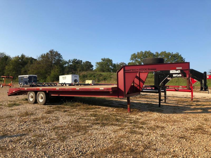 2001 Pro Stock 102x25 Flatbed Trailer
