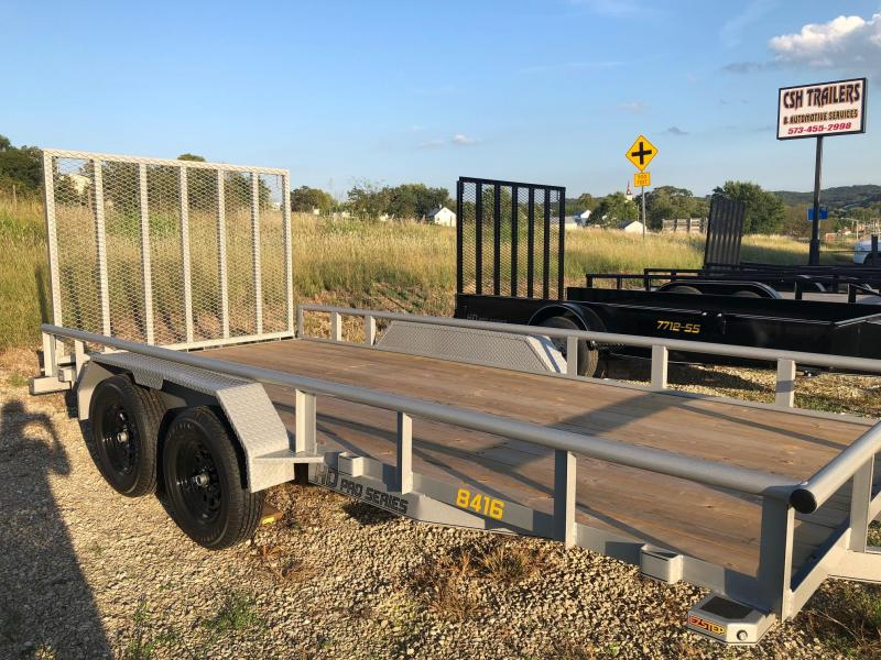 2020 Doolittle Trailers 84x16 Tandem Axle Utility