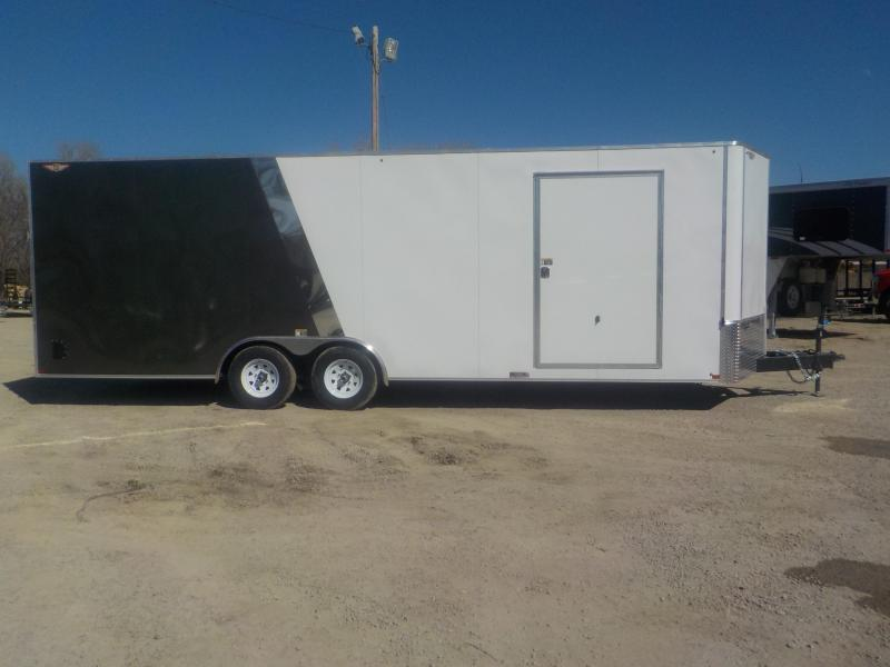 2020 H and H Trailer 101X24 HH F-TOP ENCLOSED CARHAUL VNOSE 10K CARGO