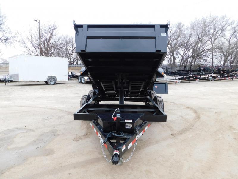 2020 PJ Trailers 60 in. Utility Dump (D5) Dump Trailer