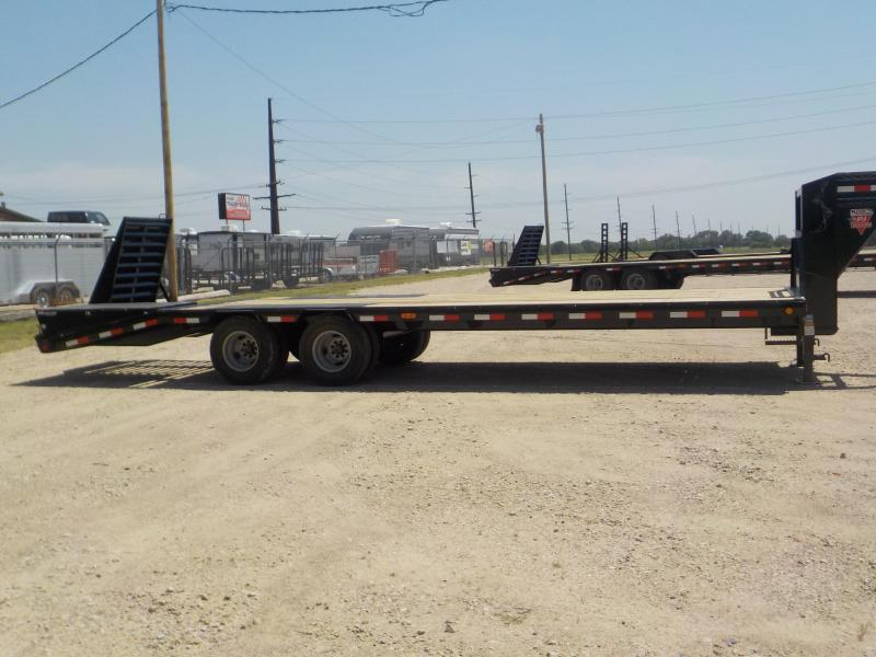2020 PJ Trailers 27' Low-Pro Flatdeck with Duals Trailer