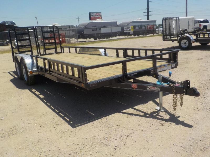 "2020 PJ Trailers 22'x83"" Tndm Axle Channel Utility Trailer"