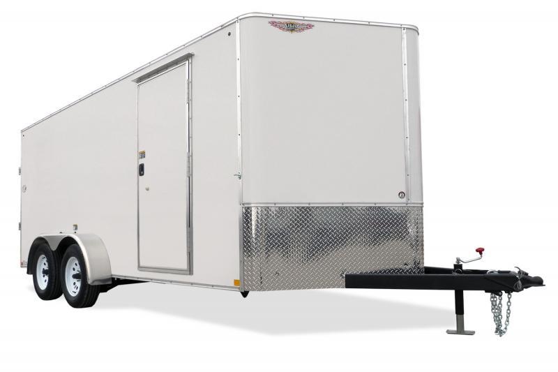 2020 H & H Trailers H8416TFTV-070 Enclosed Cargo Trailer