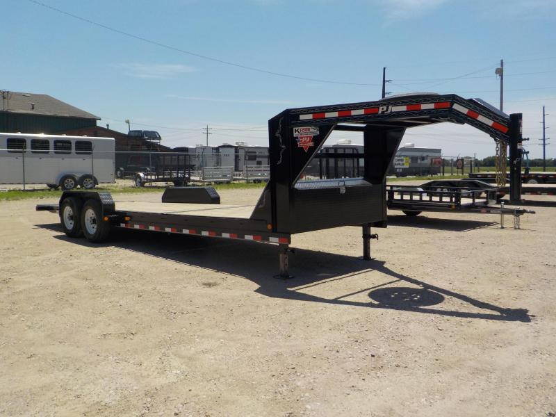 "2020 PJ Trailers 24' 6"" Channel Equipment Tilt Trailer"
