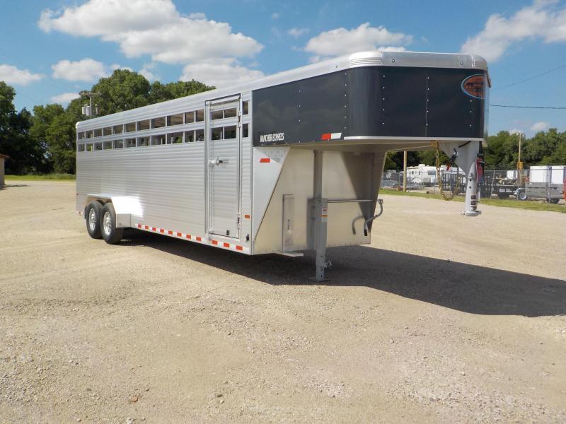 2020 Sundowner Trailers Rancher Express 24GNXP Livestock Trailer
