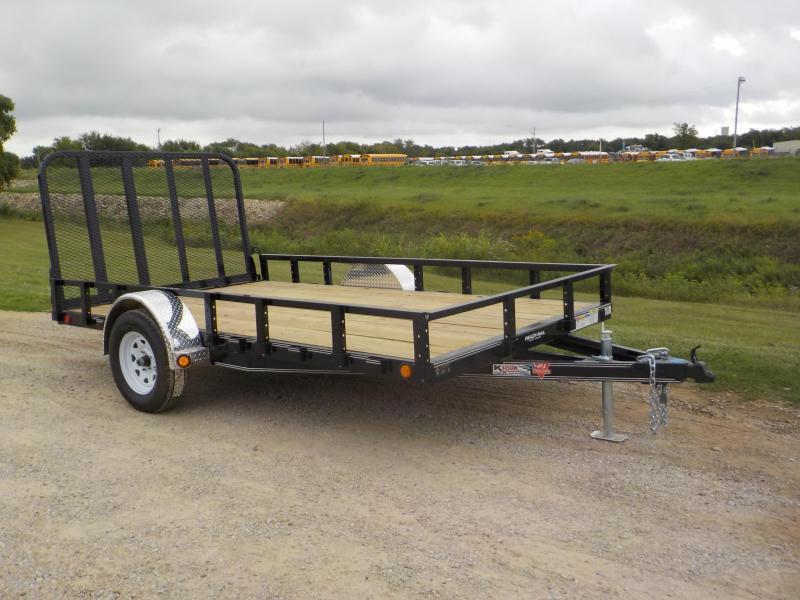 2020 PJ Trailers 83X12 Single Axle Channel Utility (U8) Utility Trailer