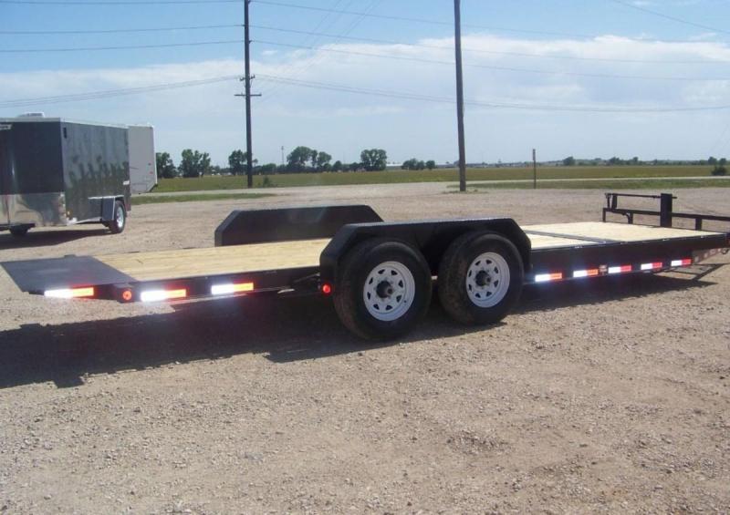 2020 PJ Trailers 22ft, 6 in. Channel Equipment Tilt (T6) Equipment Trailer