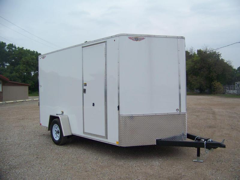 2020 H & H Trailers H8412TFTV-070 Enclosed Cargo Trailer