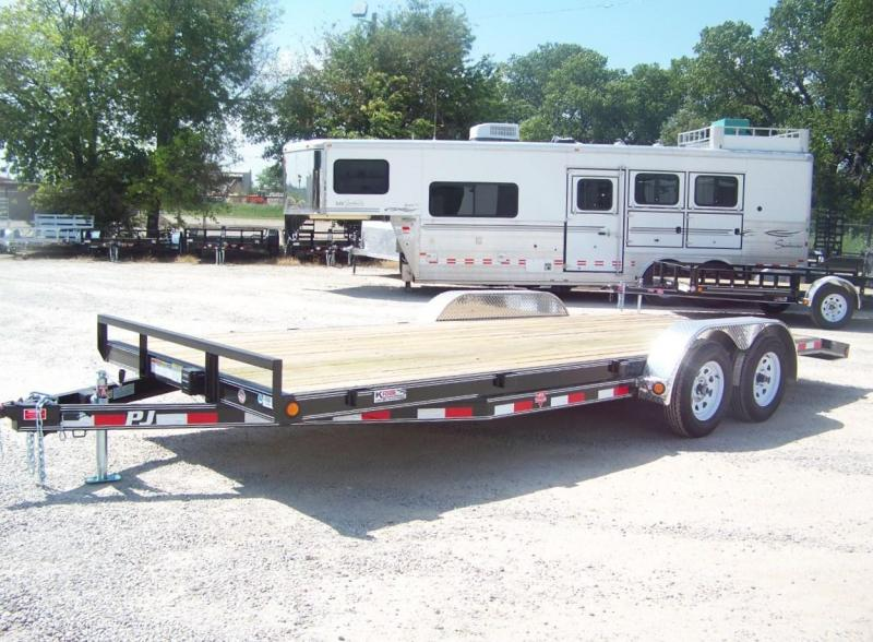 "2020 PJ Trailers 20' 5"" Channel Open Car / Racing Trailer"