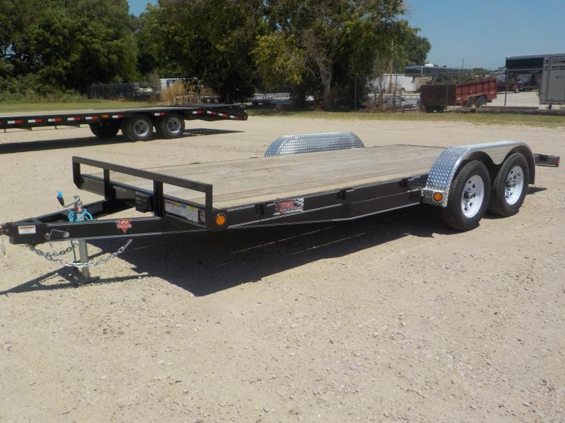 "2020 PJ 18' 5"" Channel Open Car / Racing Trailer"