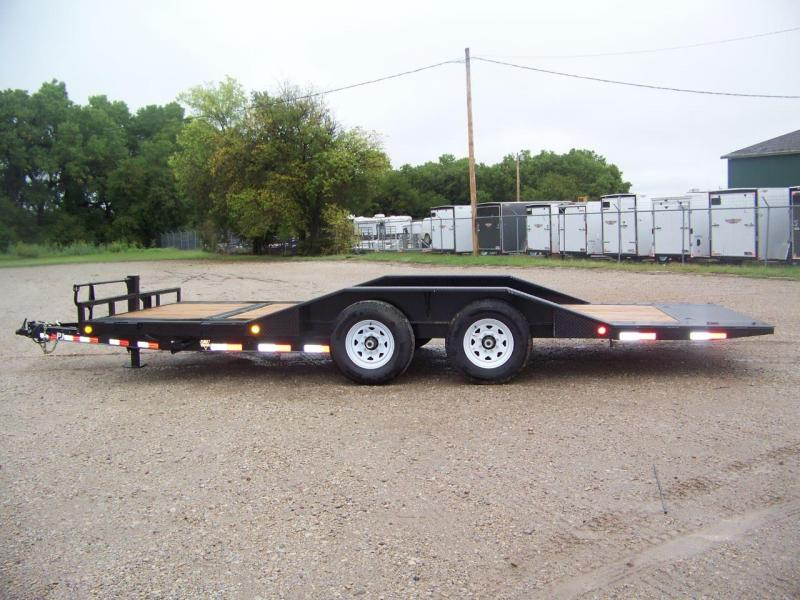 "2020 PJ Trailers 6"" Channel Super-Wide Tilt (TS) Equipment Trailer"