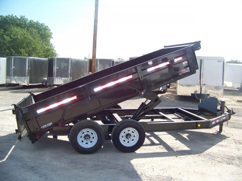 2019 PJ Trailers 14' x 83 Low Pro Dump Trailer