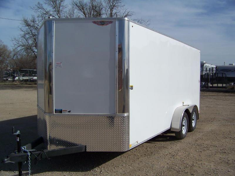 2020 H & H Trailers H8416TFTV-070 Enclosed Cargo Trailer