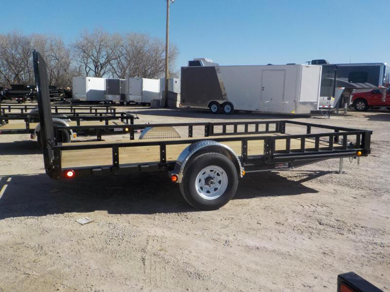 2020 PJ Trailers 83x14 Single Axle Channel Utility (U8) Utility Trailer