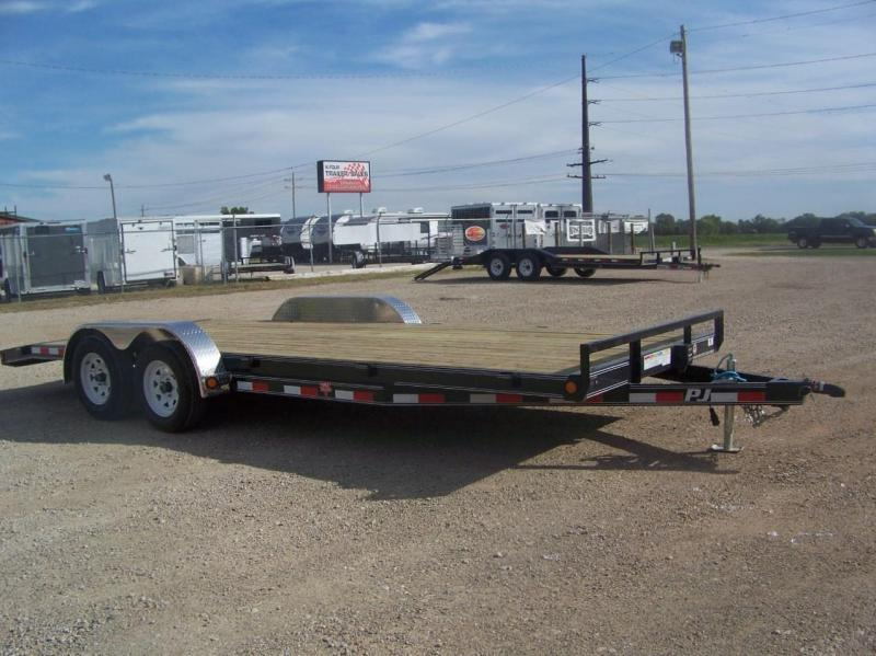2020 PJ 20ft Open Car Trailer