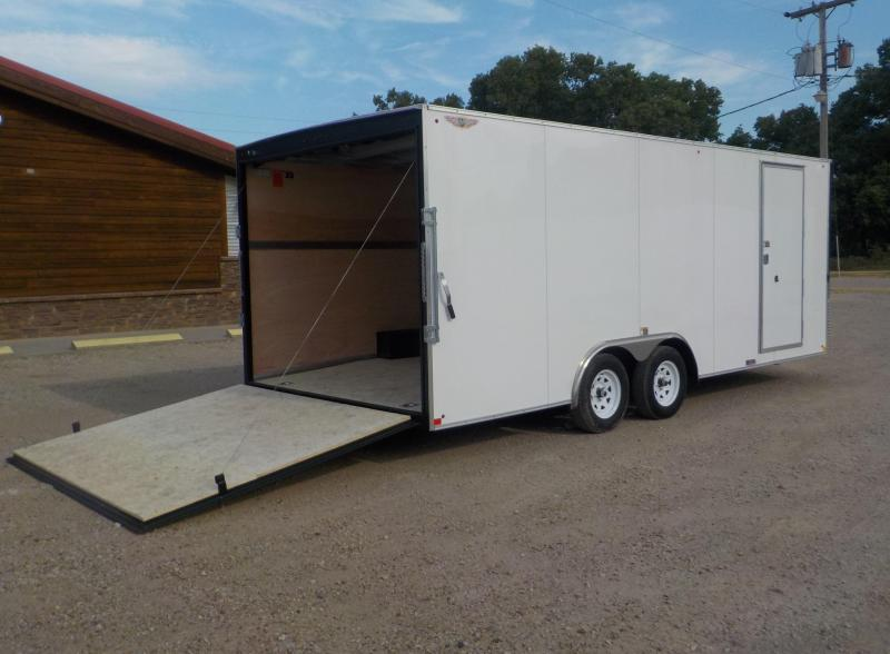 2019 H and H Trailer 101X20 ENCLOSED Car/ Racing Trailer