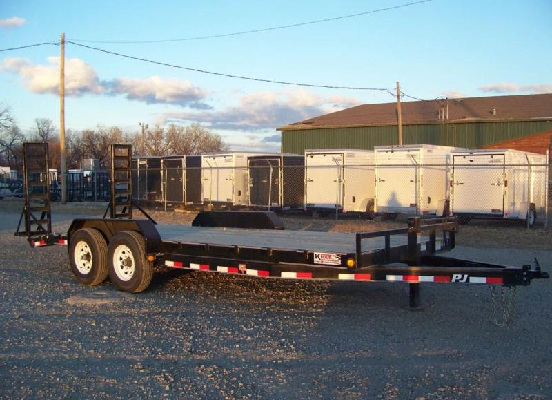 "2019 PJ Trailers 20' x 6"" Channel Equipment Trailer"