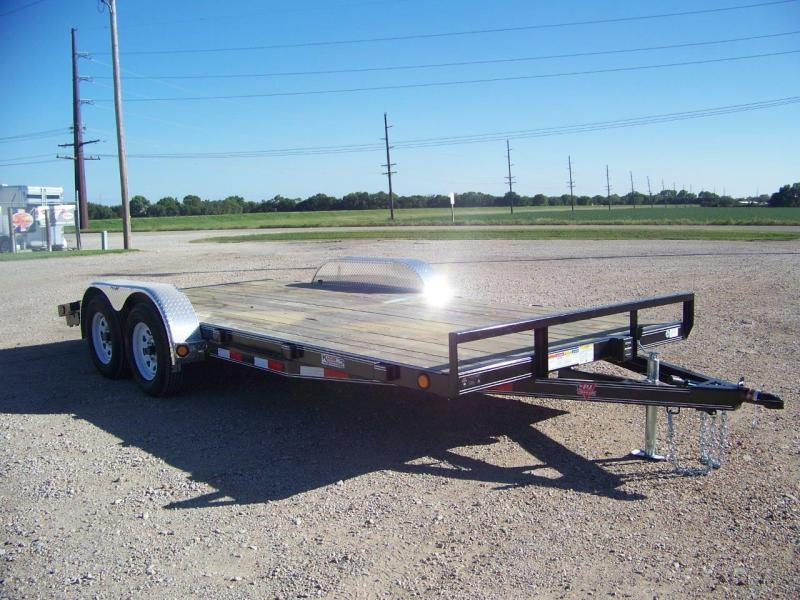 2020 PJ Trailers 18' 4 in. Channel Carhauler (C4) Open Car / Racing Trailer