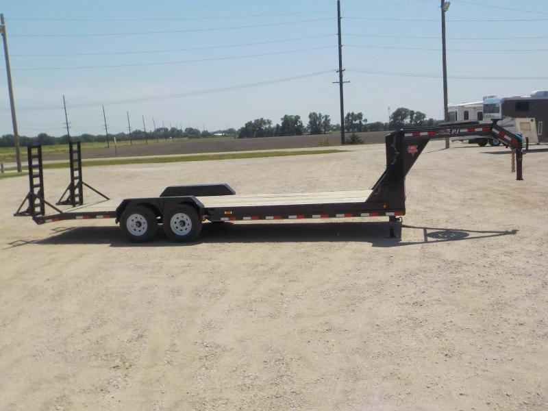 "2020 PJ Trailers 24'x6"" Channel Equipment Trailer"