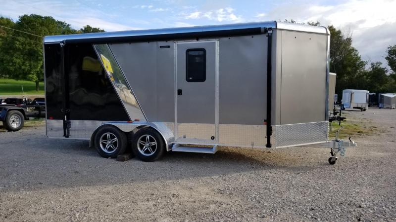 """2020 R and R 7x16 VDCP """"Toy Hauler"""" Enclosed Cargo Trailer 7k"""