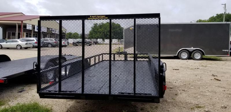 2019 M.E.B 6.4x16 Utility Trailer w/Gate and Brake 7k