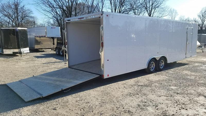 2020 Interstate 8.5x28 Deluxe Enclosed Auto Hauler 10k