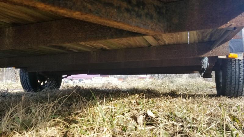 2010 Rice Trailers 7x12 Utility Trailer w/Ramp Gate 3k