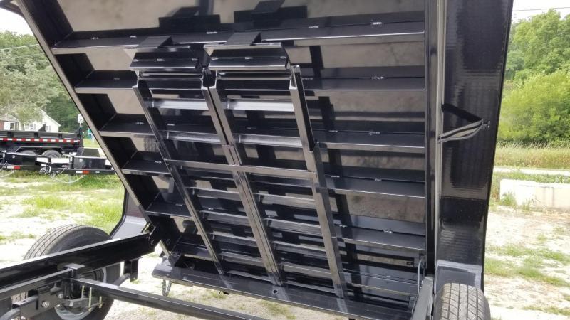2020 Sure-Trac 82x14 Telescopic Dump Trailer w/4' Sides 14k