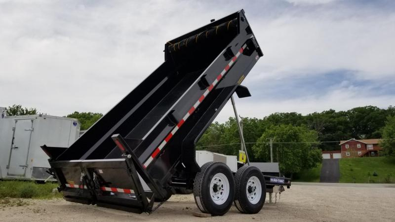 2020 Sure-Trac 82x12 Telescopic Dump Trailer 12k