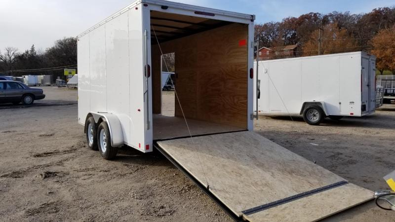 2020 Interstate 7x14 SF Flat Front Enclosed Cargo Trailer 7k