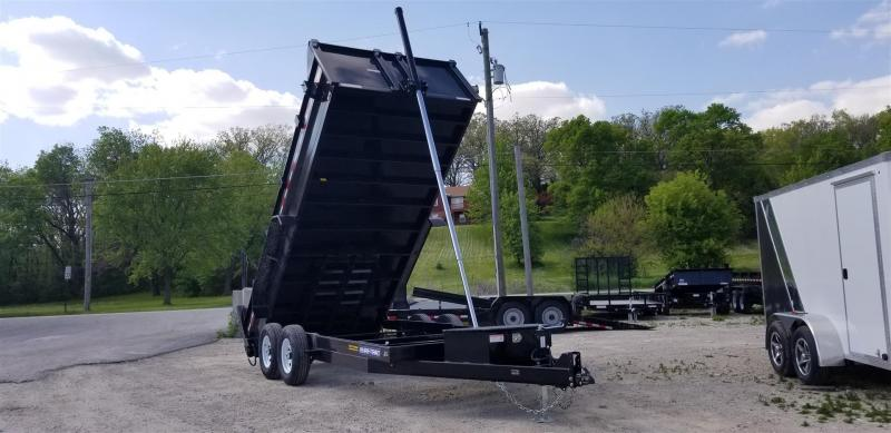 ON ORDER 2020 Sure-Trac 82x16 Telescopic Dump Trailer 14k