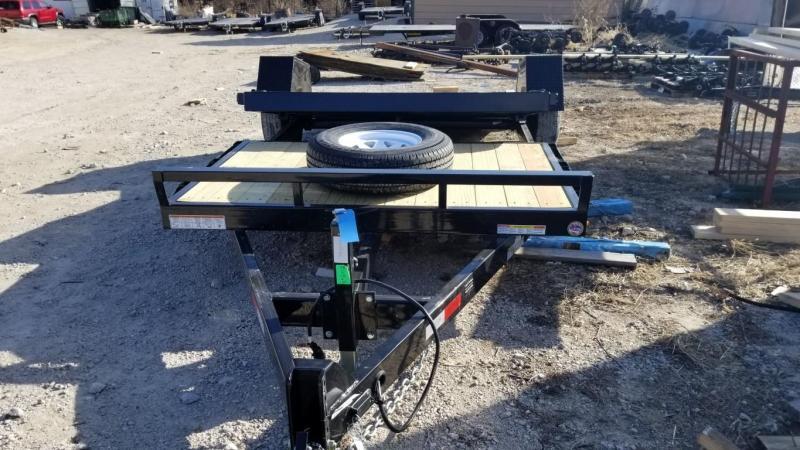 2019 Sure-Trac 78x12+4 Tilt Bed Equipment Trailer 7.8k