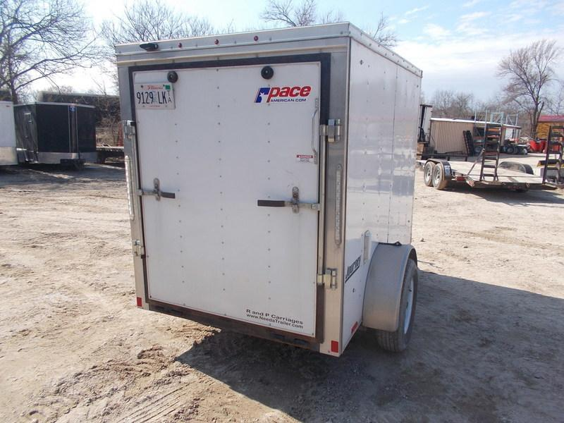 FOR RENT ONLY #15 5x8 Pace Cargo Trailer