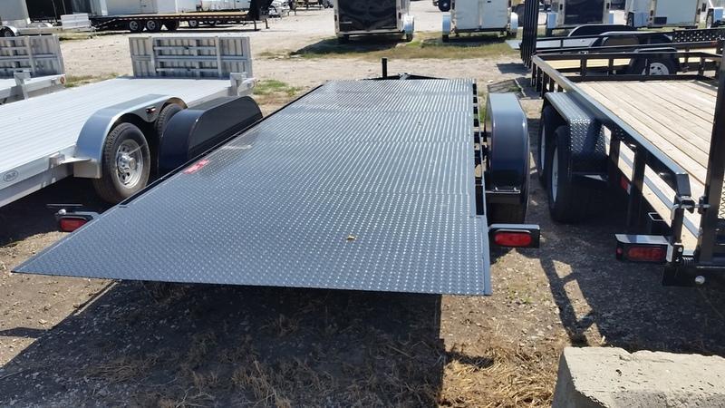 """2019 Kwik Load 7x20 Steel """"Rollback"""" Open Auto Hauler 12k"""