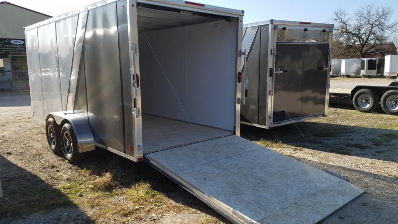 ON ORDER 2020 R and R 7x16 Force Elite Aluminum Cargo Trailer 7k