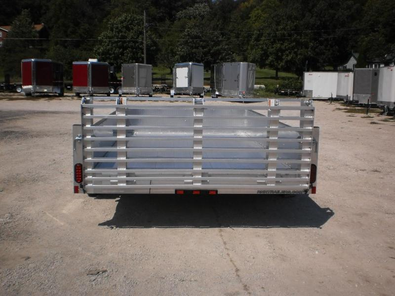 2020 R and R 6x10 ATP All Aluminum Utility Trailer w/Bifold Gate 3k