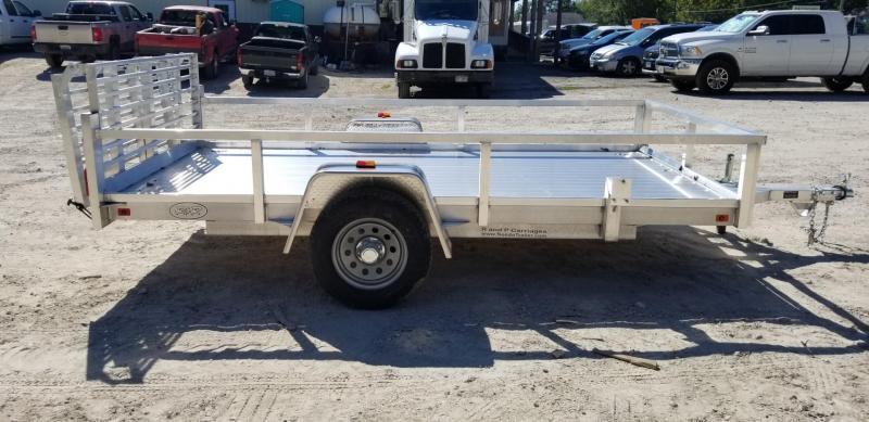 """2020 R&R 6x12 UTA Utility Trailer w/12"""" Side Rail 3k"""
